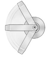 Schlage ALXV70 Vandlgard Lever Privacy Function