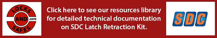 View SDC LR100SGK Latch Retraction Kit For Sargent Exit Device Installation Instructions, Datasheet, Pricesheet