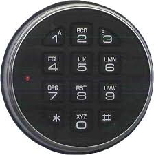 Example of a Safe Lock with Keypad. Example of a Combination Lock with Keypad.