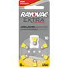 60 Rayovac Extra Advanced, size 10 Hearing Aid Battery (pack 60 pcs)