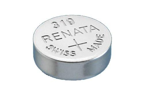 RENATA WATCH BATTERY 1.55V SWISS MADE BATTERIES 319 SR527SW