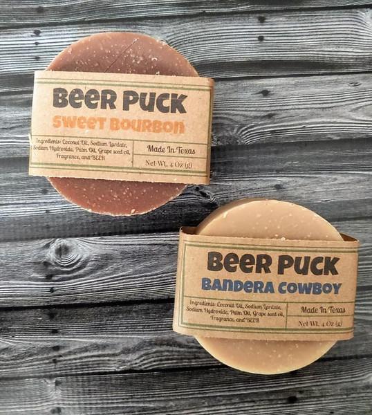 Beer Puck Soap