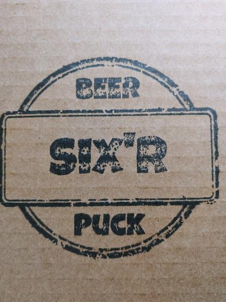 """Beer Puck """"Six'r"""" Pack"""