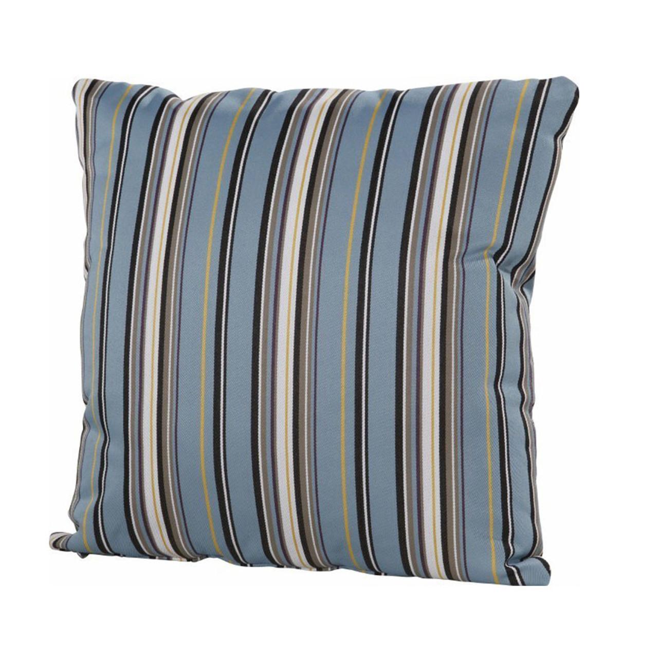 4so Albena Blue Outdoor Cushion 50x50cm The Orchard Garden Centre