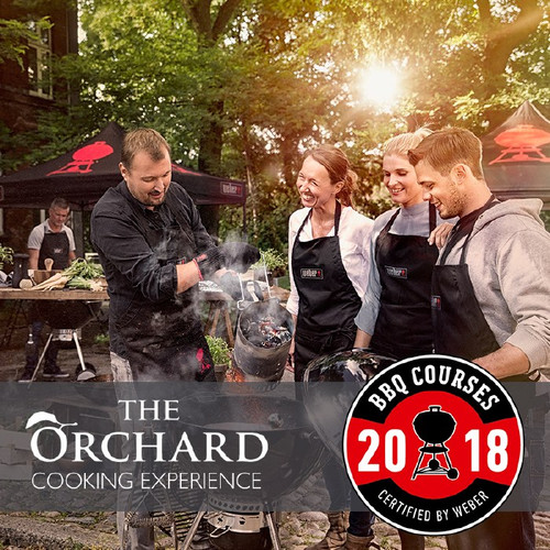 Weber World BBQ Cooking Experience At The Orchard | Thursday 29th November 2018