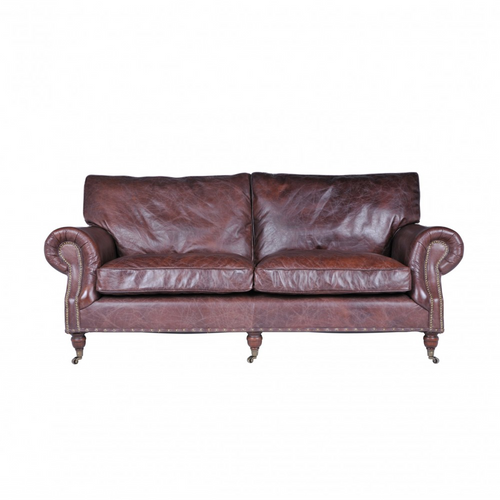 Balmoral Antique Whiskey 3-Seater