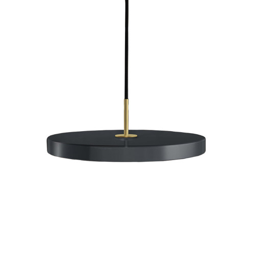 Asteria Anthracite Grey Pendant
