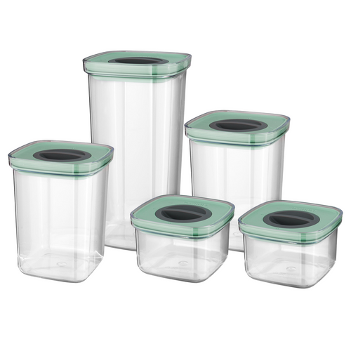 5pc set smart seal food containers - Leo