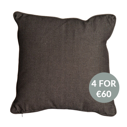 Alexander Rose Charcoal Cushion (4 FOR €60)