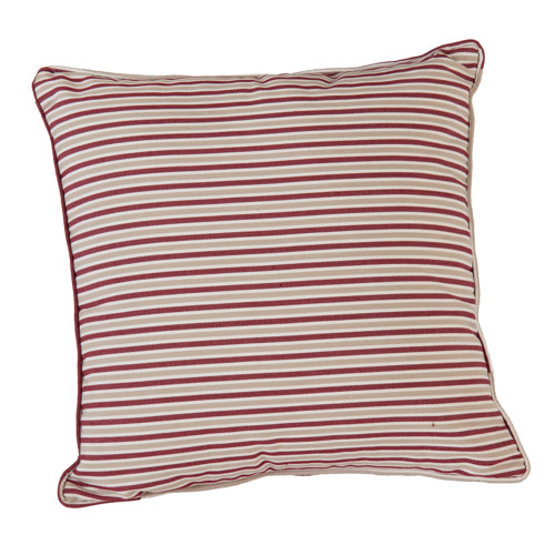 Alexander Rose Berry Stripe Cushion