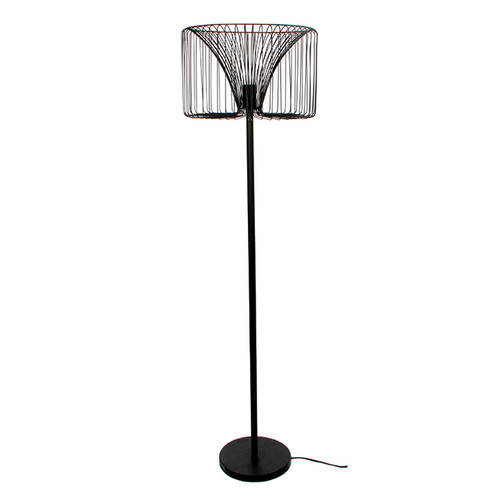 Salomo Floor Lamp Black
