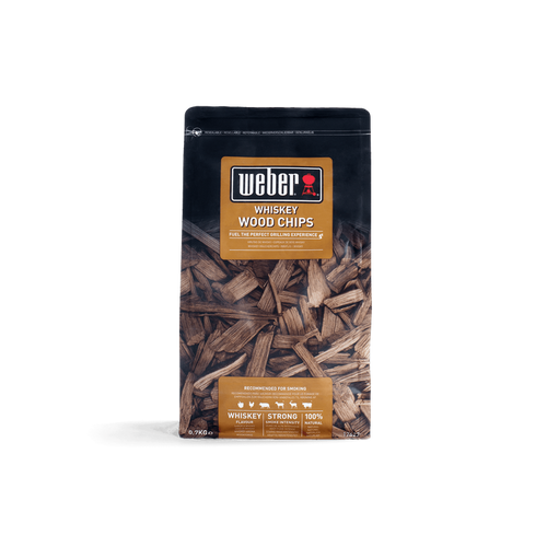 Weber® Whiskey Wood Chips, (0.76kg)