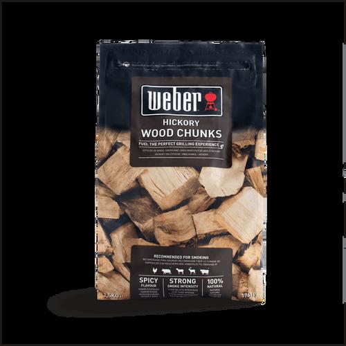 Weber® Hickory Wood Chunks (1.5KG)