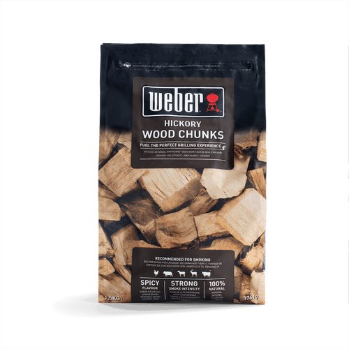 Weber® Hickory Wood Chunks (1.5KG)