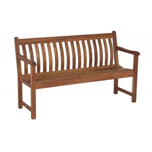 Alexander Rose Cornis Side Bench, 3.5ft