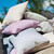 Alexander Rose Denim Stripe Cushion