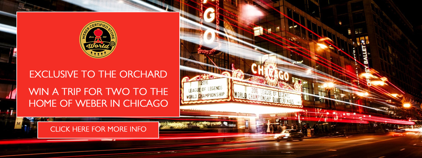 WIN A Trip To Chicago The Home Of Weber