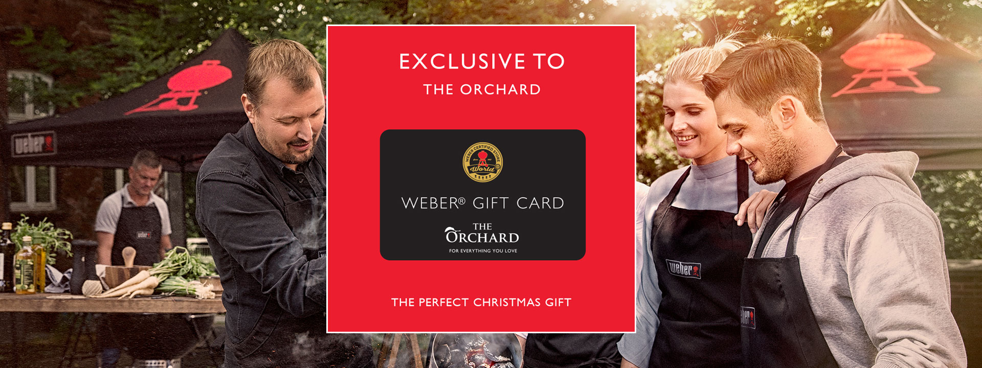 Weber Gift Card Exclusive To The Orchard