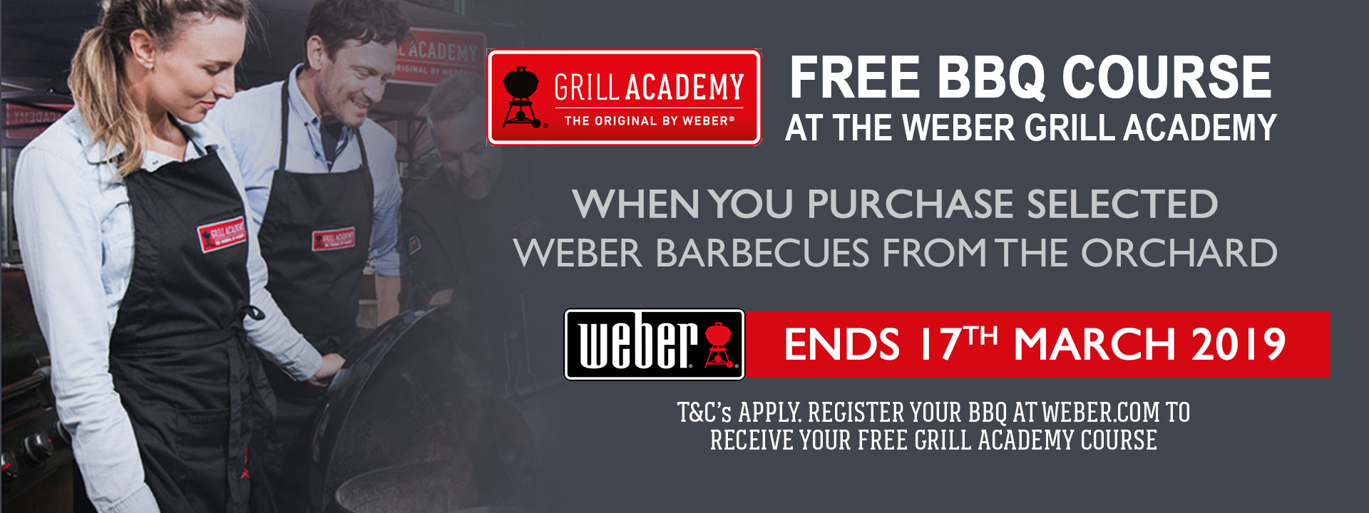 Weber Grill Academy Promo