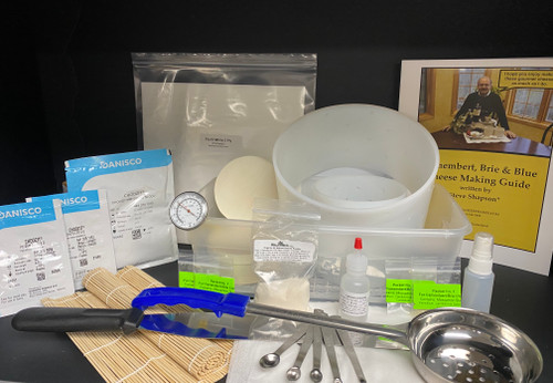 Deluxe Camembert/Baby Brie CheeseMaker Kit