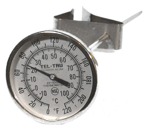 Deluxe-Stainless Steel Thermometer