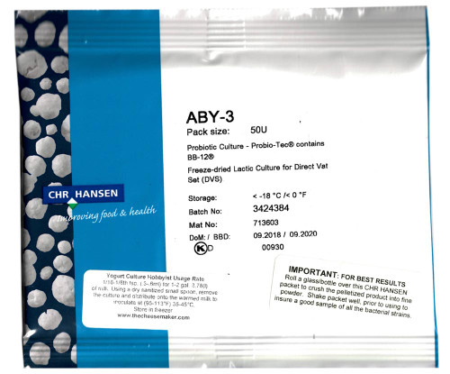 ABY3 Probiotic Yogurt Culture-Wholesale-10 Units