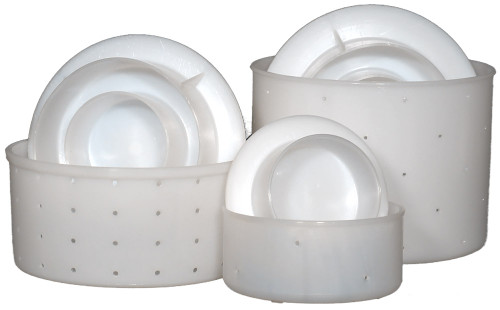 Tomme Cheese Mould(s) (includes lid to help press curds)