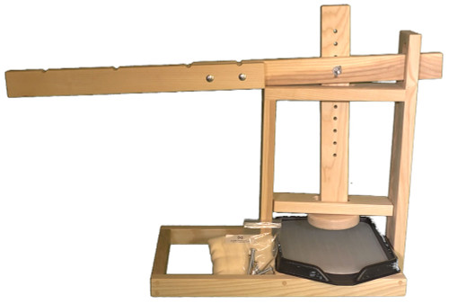 Dutch Style Cheese Press with Whey Drainage Tray/Insert-Wholesale 4 Presses