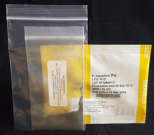 Penicillium Roqueforti PA Strain 2.5 dose