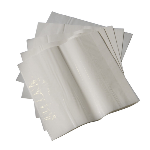 White Mold Ripened Wrapping 2-ply Sheets-18x18in.-  CS 500 sheets
