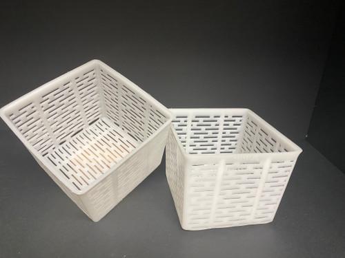 WHOLESALE Ricotta Square Basket Moulds - Set of 12