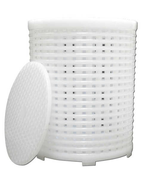 Artisan Series Soft Cheese Basket Mould & Follower
