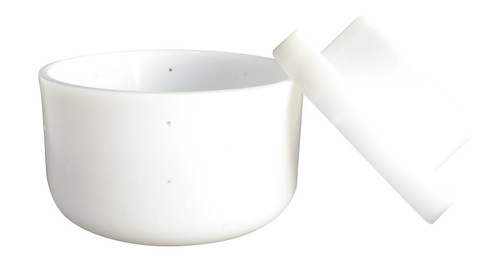 Artisan Series  Hard Cheese Mould w Lid/Follower  ;               (1 kg Small)