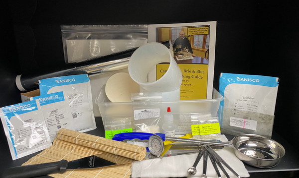 Deluxe Camembert/Baby Brie & Blue CheeseMaker Kit