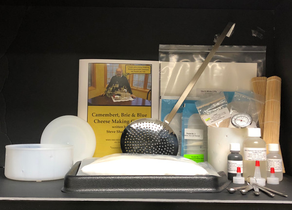 Deluxe Soft/Hard Cheese Making Kit