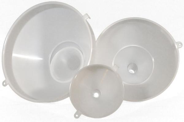 Heavy Duty Food Grade Plastic Funnel-Set of Five-Wholesale