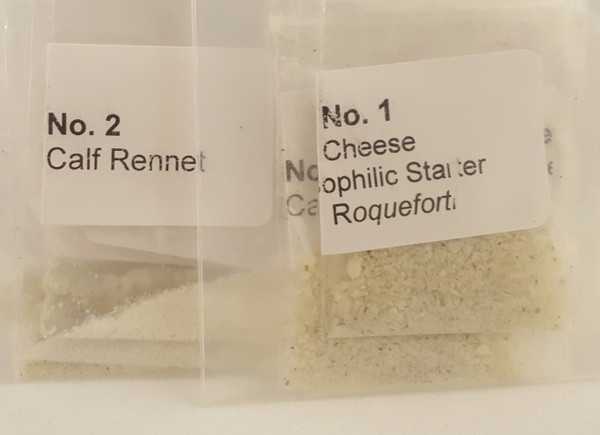 Blue Cheese Making Culture Mold Rennet Packets eBook