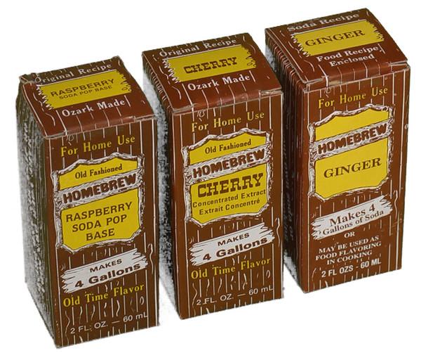 Flavor Extracts for Kombucha