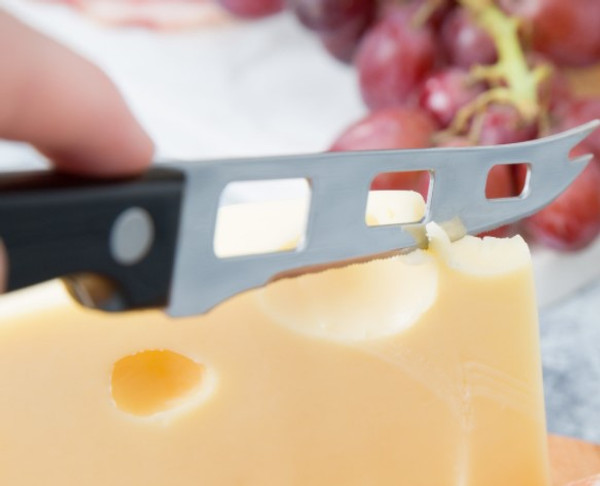 """Stainless Steel Serrated HARD CHEESE KNIFE 8"""""""
