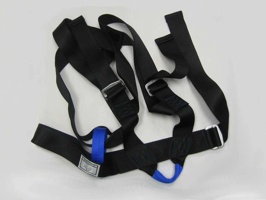 Robertson Cypress Seat Harness in Medium (black with blue)