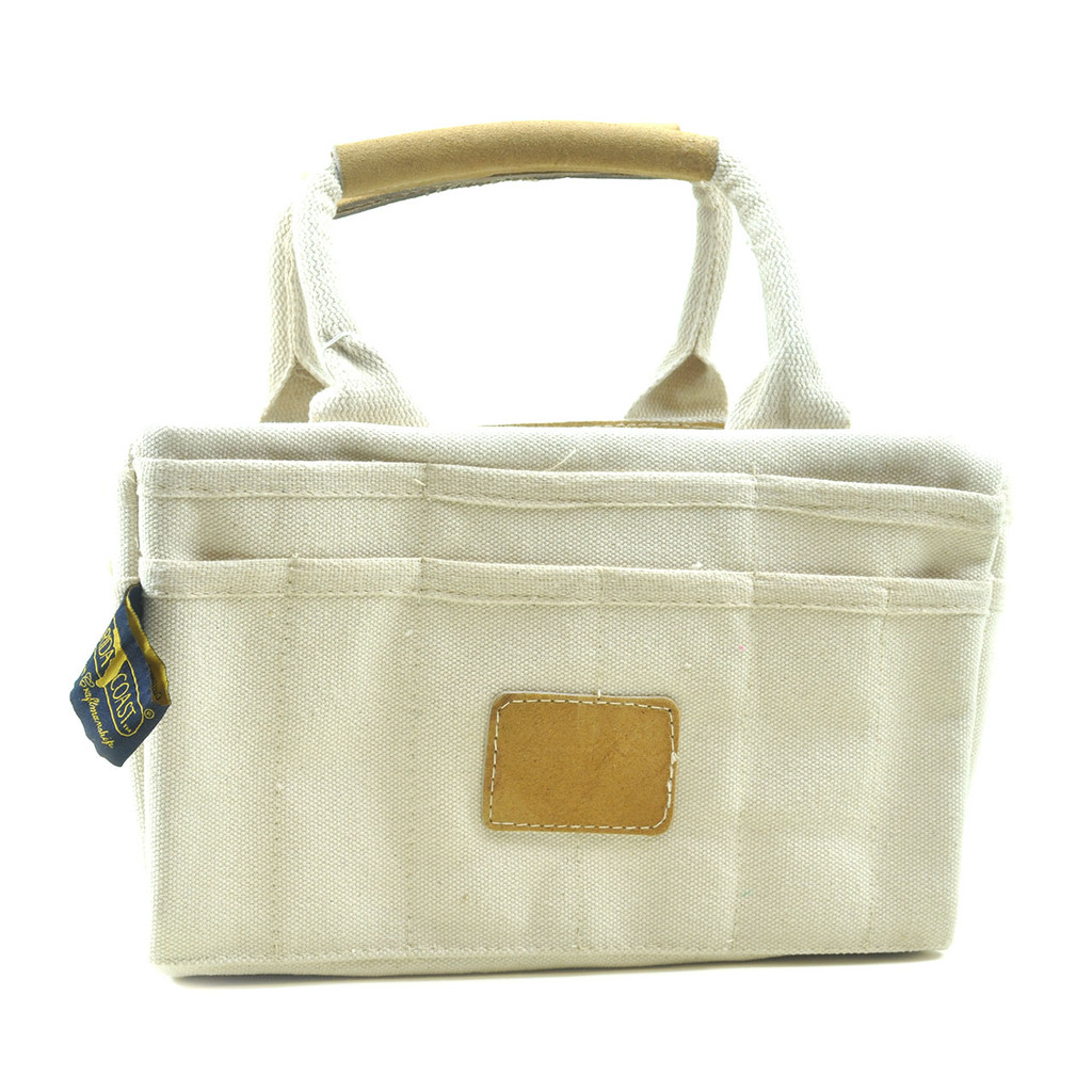 Canvas Riggers bag with Leather Trim