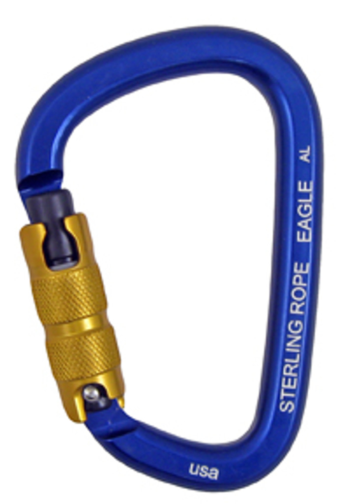 Sterling Eagle Autolock Large Pear Carabiner