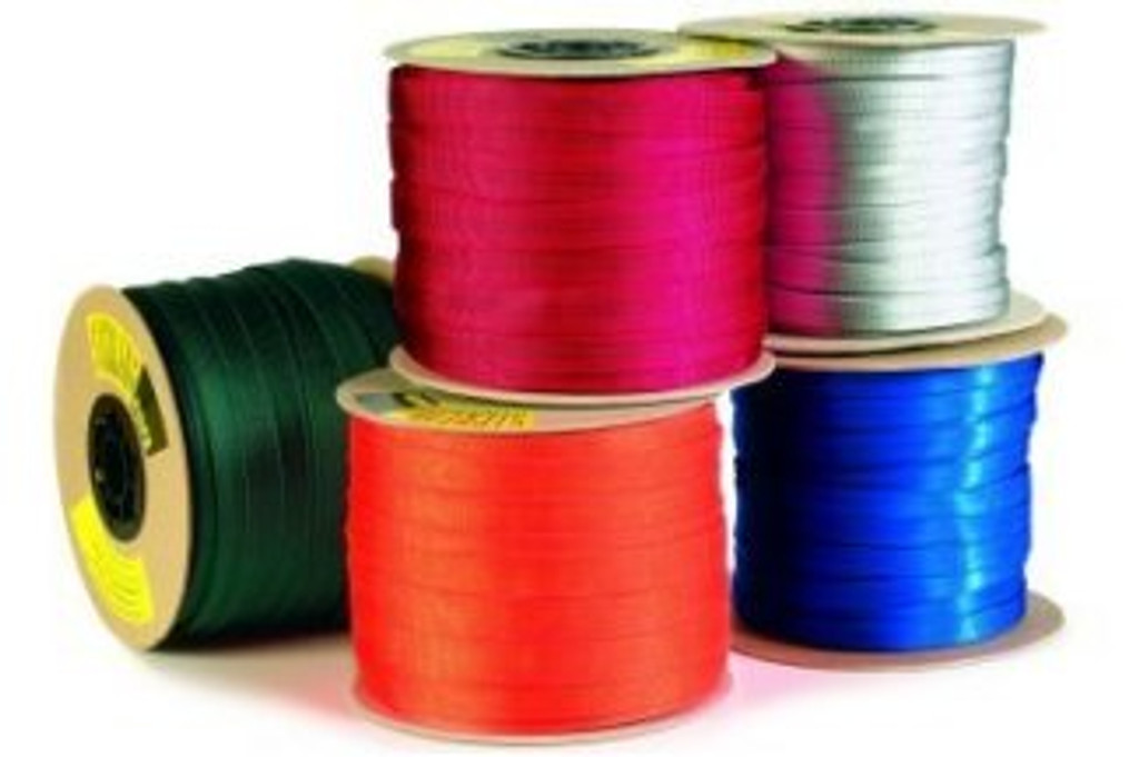 "Tubular Nylon Webbing - Sterling 11/16"" Spool"