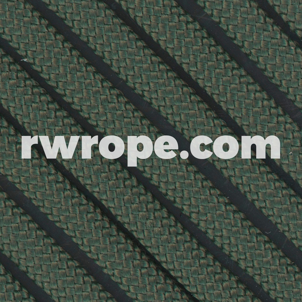 Paracord 550 in Dark Green.
