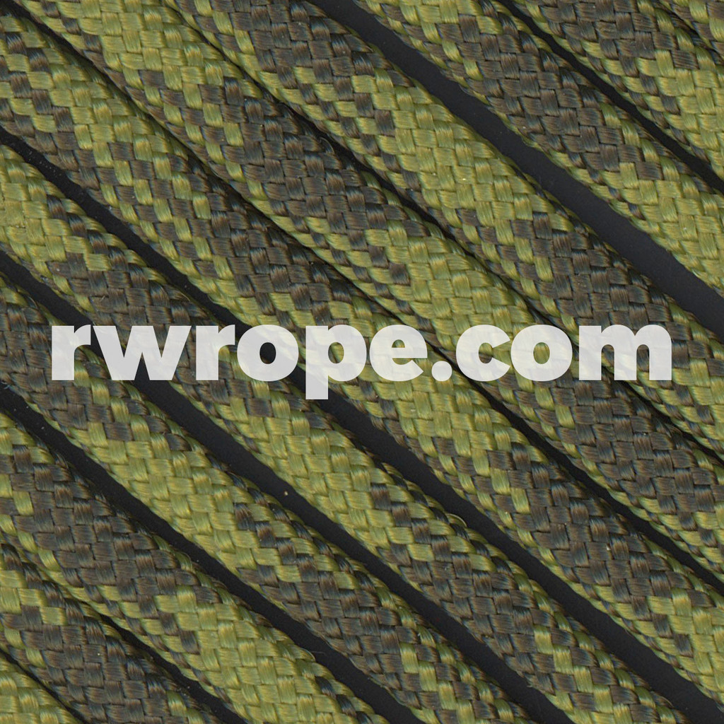 Paracord 550 in Olive Drab & Moss 50/50