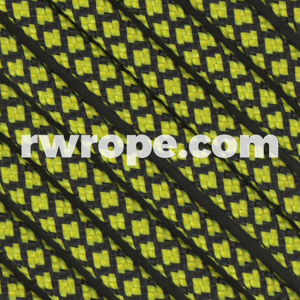 Paracord 550 in Neon Yellow Diamonds