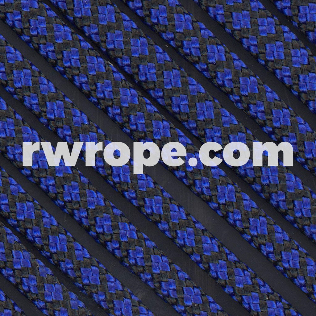 Paracord 550 in Electric Blue Diamonds