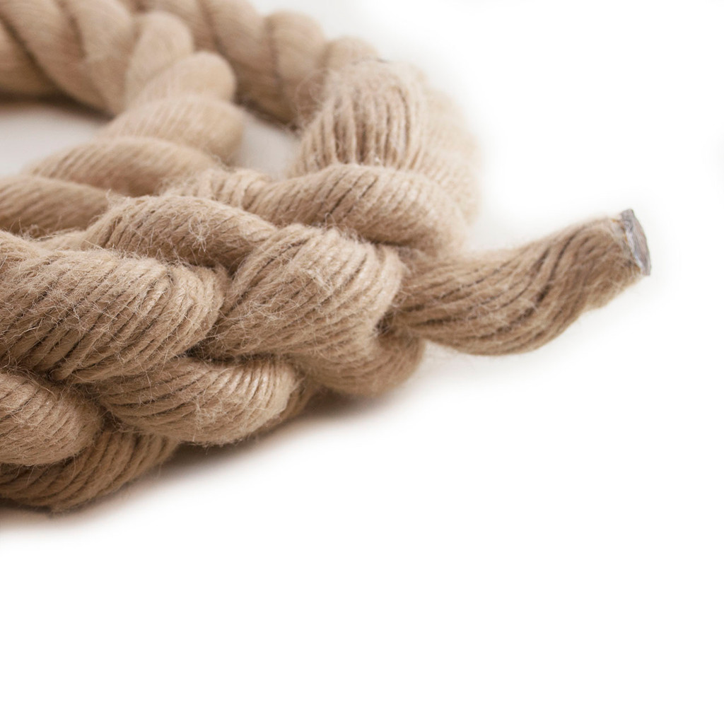 """Hempex Climbing Rope w/eye splice on one end and whipped on the other 1 1/2"""" x 15'"""