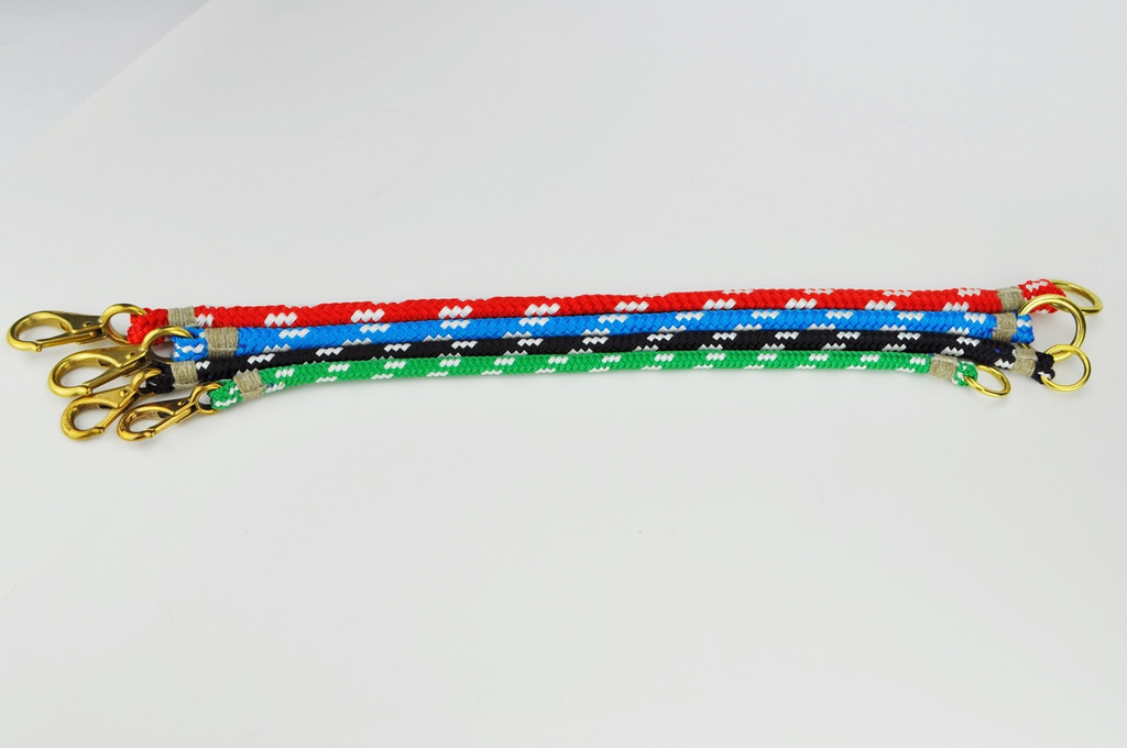 Rope Dog Collar- XLE Polyester Double Braid