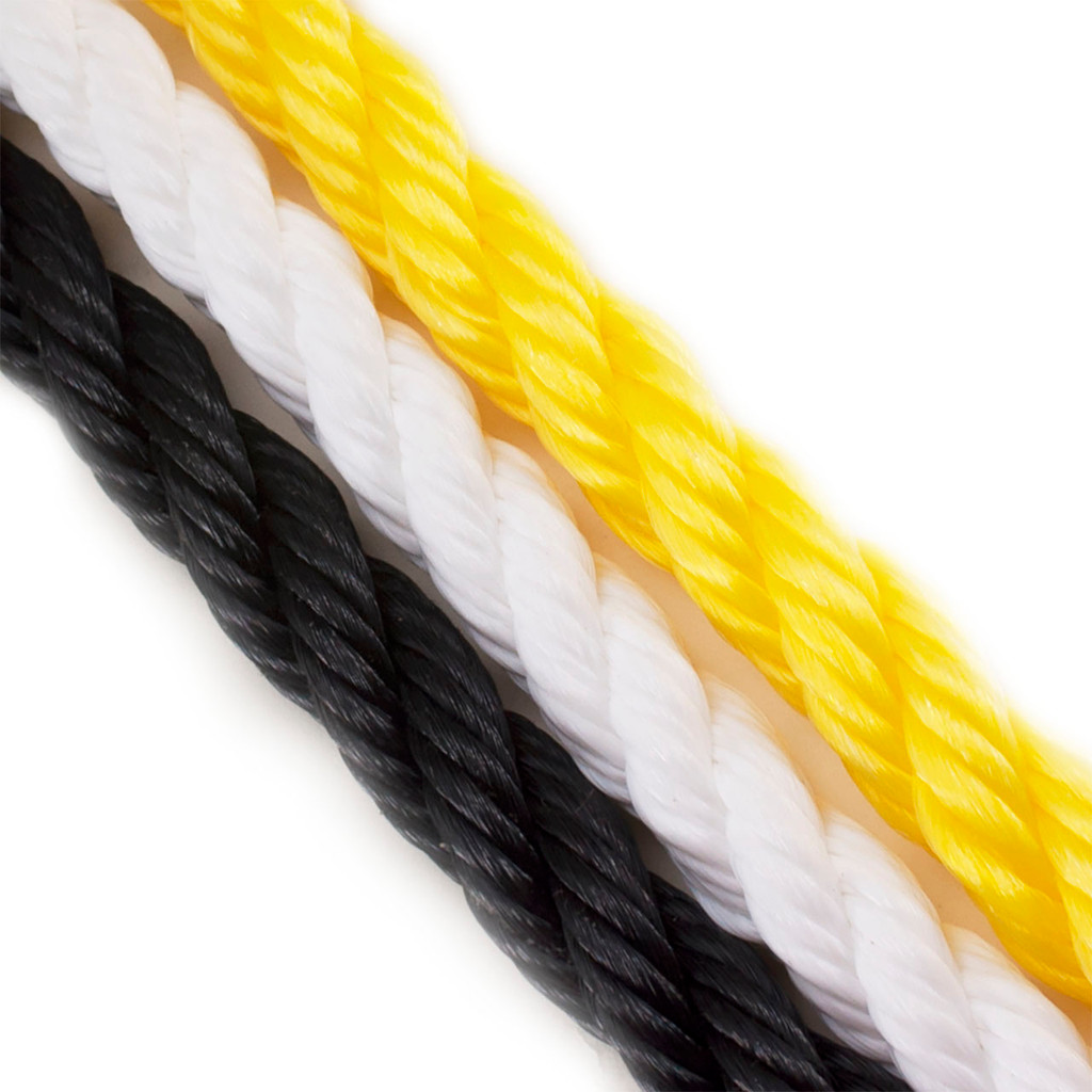 POLYPRO Polypropylene Floating 3 Strand Rope